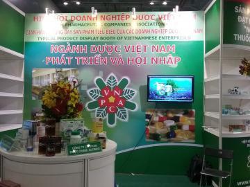 Glomed góp mặt trên gian hàng sản phẩm tiêu biểu của Hiệp hội Doanh nghiệp Dược Việt Nam